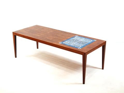 """Tenera"" Royal Copenhagen Tile top Coffee table"